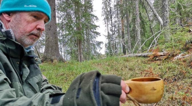 Kald, men fin tur til Solbergvann