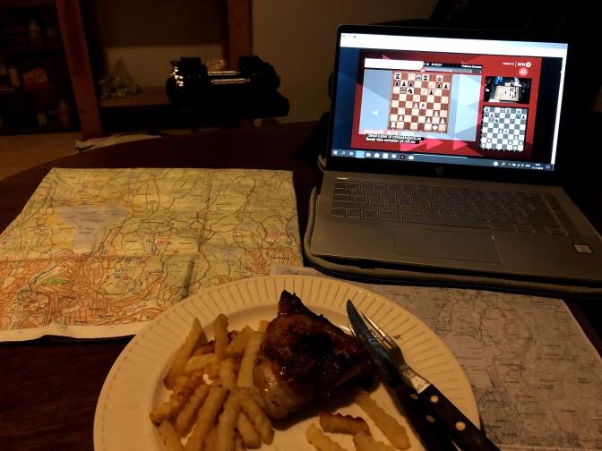 Turplanlegging og sjakk