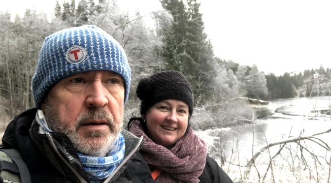 Tur med søster i Lillomarka