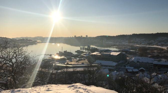 Siste novemberdag i Sandefjord
